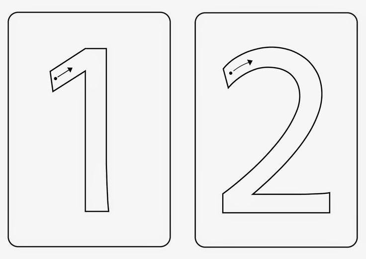 Zahlenkarten A5