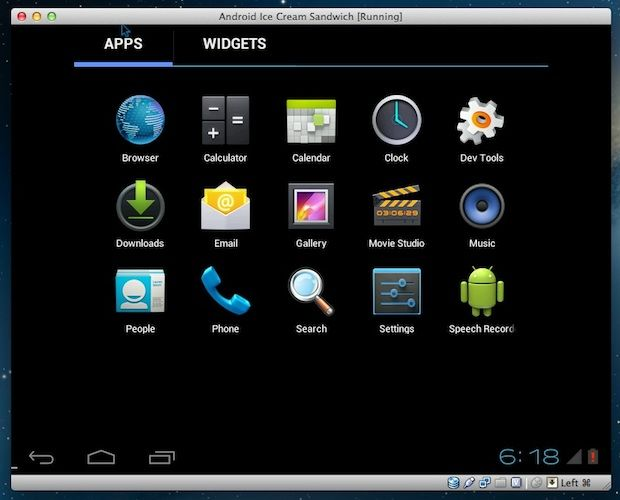 Try Android Ice Cream Sandwich on your Mac using Virtual Box