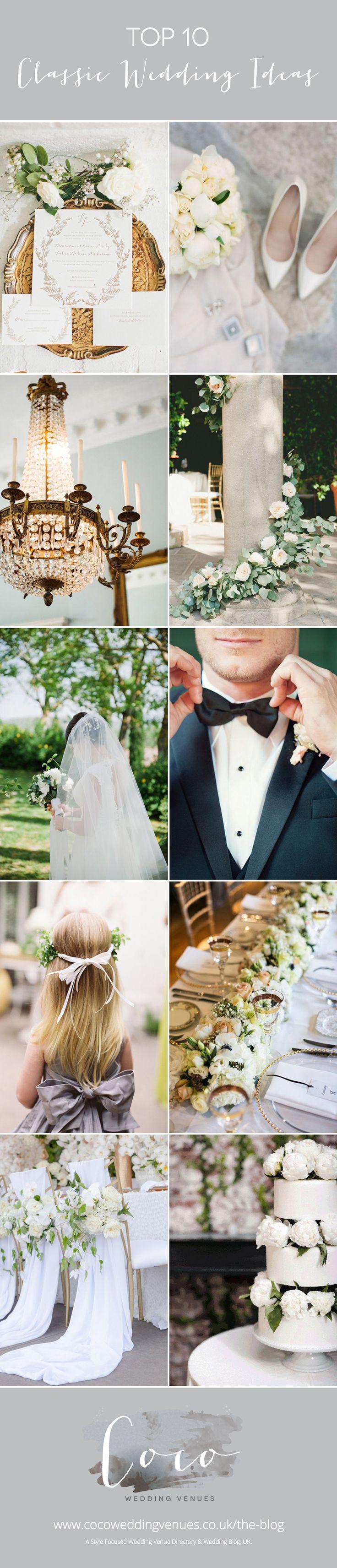 10 Classic Elegance Wedding Styling Tips