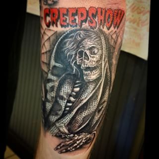 Creepshow | 37 Incredible Horror Movie Tattoos That'll Give You Nightmares
