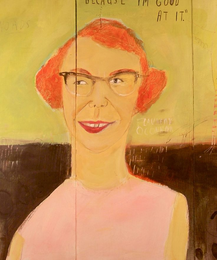 Flannery O'Connor (detail)