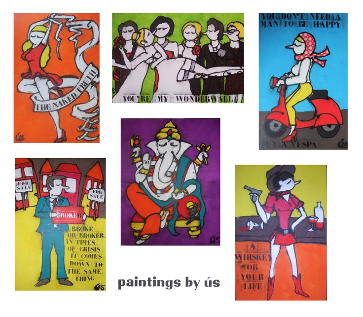 Paintings by ús  www.madeby-us.nl