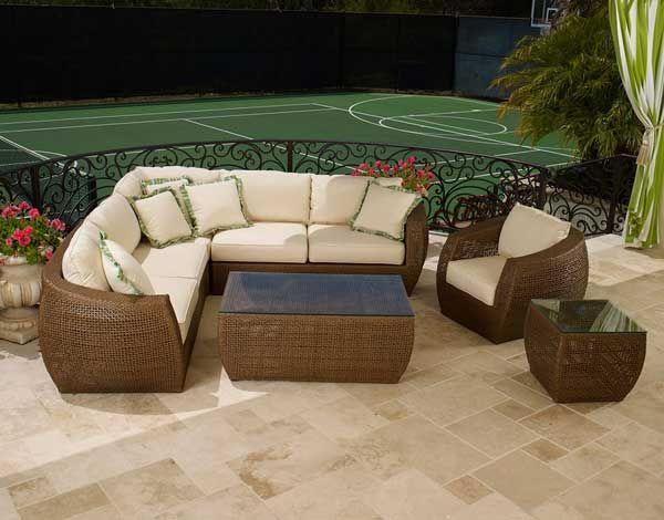 Modern Wicker Patio Furniture best 25+ outdoor wicker furniture ideas on pinterest | wicker