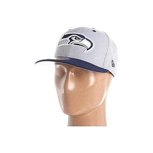(ニューエラ) New Era メンズ 帽子 ハット Seattle Seahawks NFL Black Team 59FIFTY 並行輸入品  新品【取り寄せ商品のため、お届けまでに2週間前後かかります。】 カラー:Grey/Navy カラー:グレー