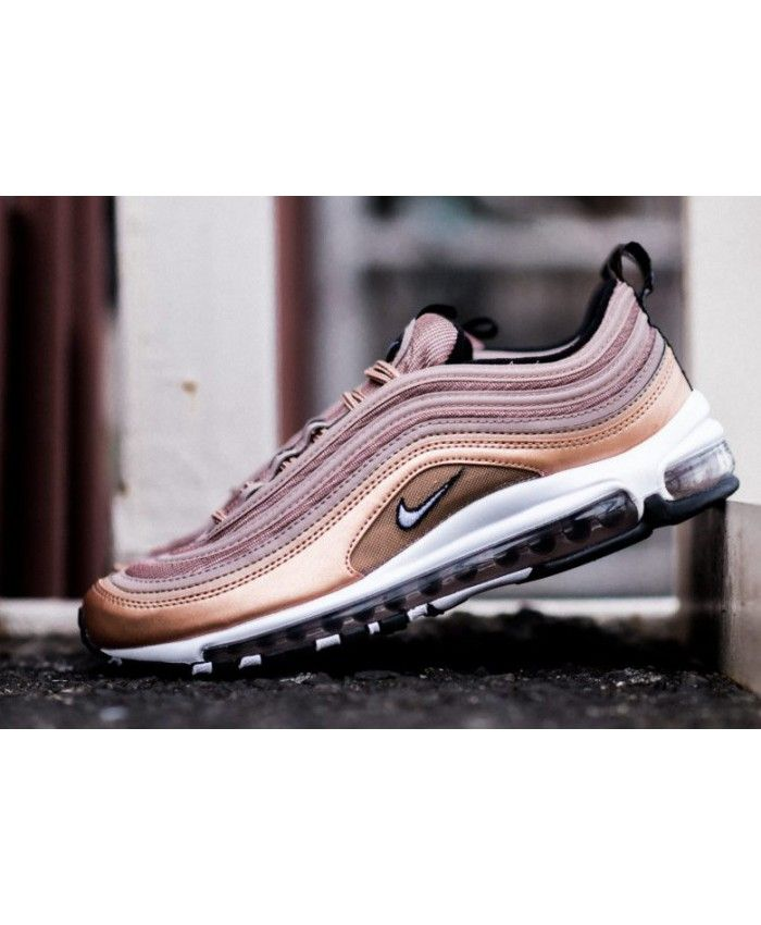 8409d1b6e9e Nike Air Max 97 Desert Dust Metallic Red Bronze Pink Trainer Sale ...