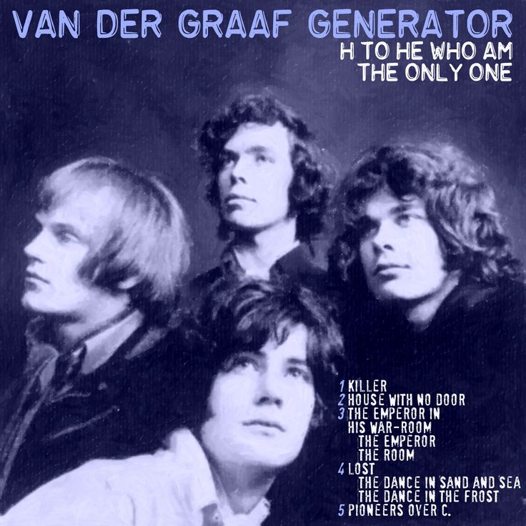 VAN DER GRAAF GENERATOR - H to HE who am the only one CD COVER