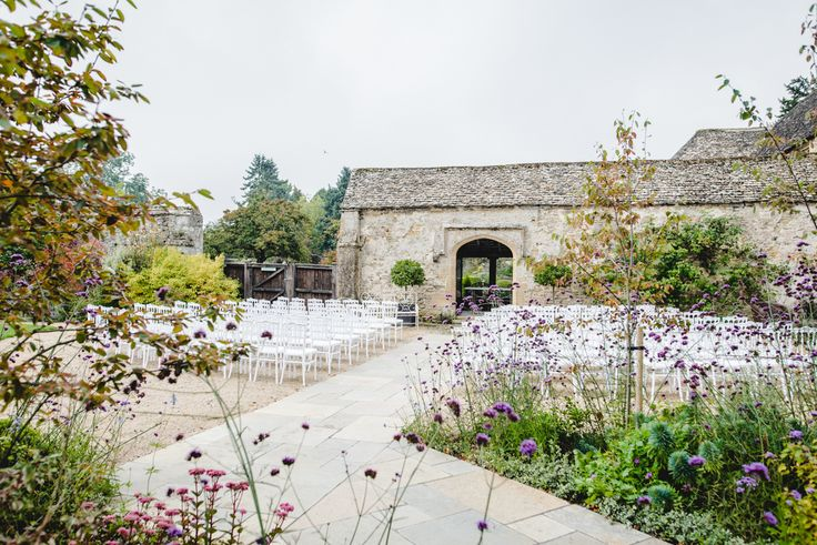 Caswell House Outdoor wedding set up by Bigeye Photography for Lisa and Olly