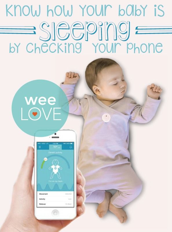 weelove a modern monitor for nervous new parents smart phones baby monitor and babies. Black Bedroom Furniture Sets. Home Design Ideas