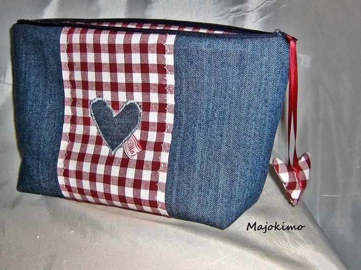 """Photo of Toiletry bag """""""" costume """""""" of !!!!!! MaJoKiMo !!!!!! on DaWanda.com"""