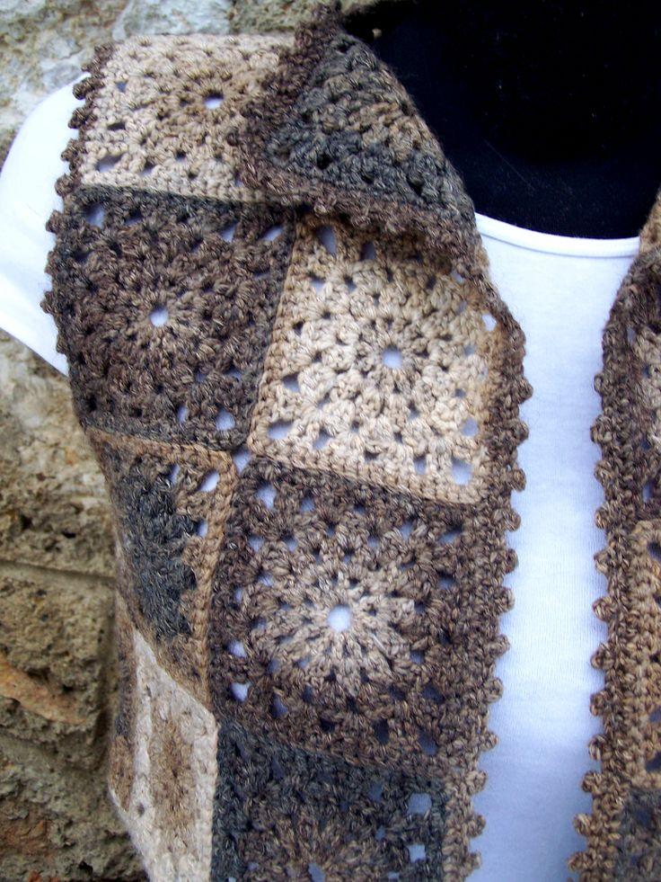 http://napmatkastudio.blogspot.hu/p/munkaim.html handknit and crochet from Hungary - crochet vest / waistcoat / bolero