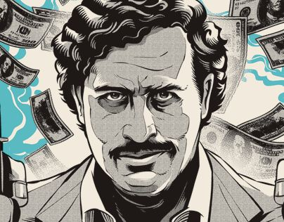 """Check out this @Behance project: """"Pablo Escobar"""" https://www.behance.net/gallery/42314351/Pablo-Escobar"""