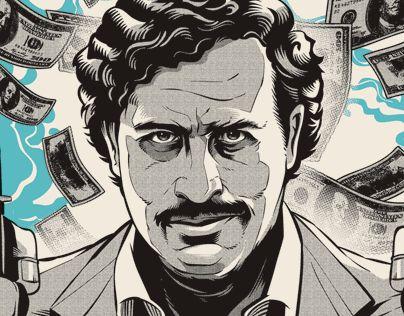 """Consulta este proyecto @Behance: """"Pablo Escobar""""…"""