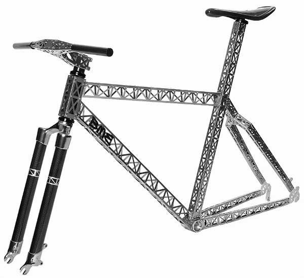 La #bicicleta de montaña elaborada e inspirada en la torre ¨Eiffel¨   Mx Cycles