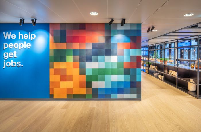 Indeed Offices Dusseldorf Office Snapshots In 2020 Acoustic Wall Interior Architect Interior Projects