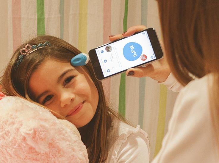 Oblumi Tapp è il dispositivo che trasforma il tuo smartphone in un #termometro per #bambini e adulti a infrarossi. Comodo e preciso! Guarda sul nostro sito: http://ndgz.it/oblumi-tapp-termometro-digitale