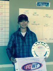 FCWT Junior Golf Tournament at Duke 2014: Sophie Liu, girls winner