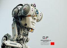 ArtStation - Dragonfly | Medic robot, Vladislav Ociacia