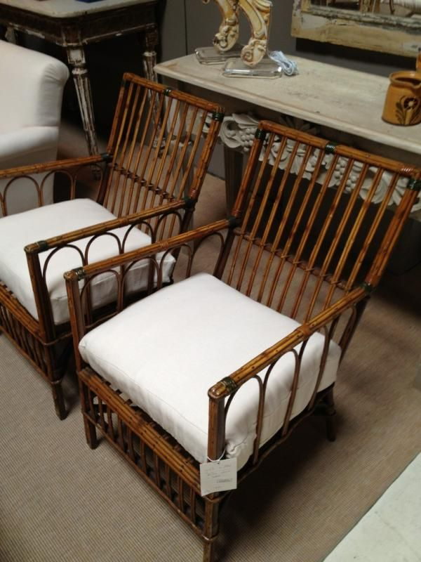 Love These Vintage Bamboo Chairs Found In Stamford  Www.goodbonesgreatpieces.com