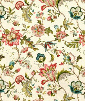 The colors in this fabric are awesome!   P. Kaufmann Brissac Jewel Fabric