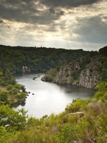 River Creuse, Limousin, France