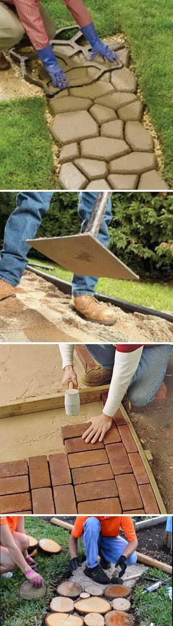 Creative Pathway & Walkway Ideas For Your Garden Designs.