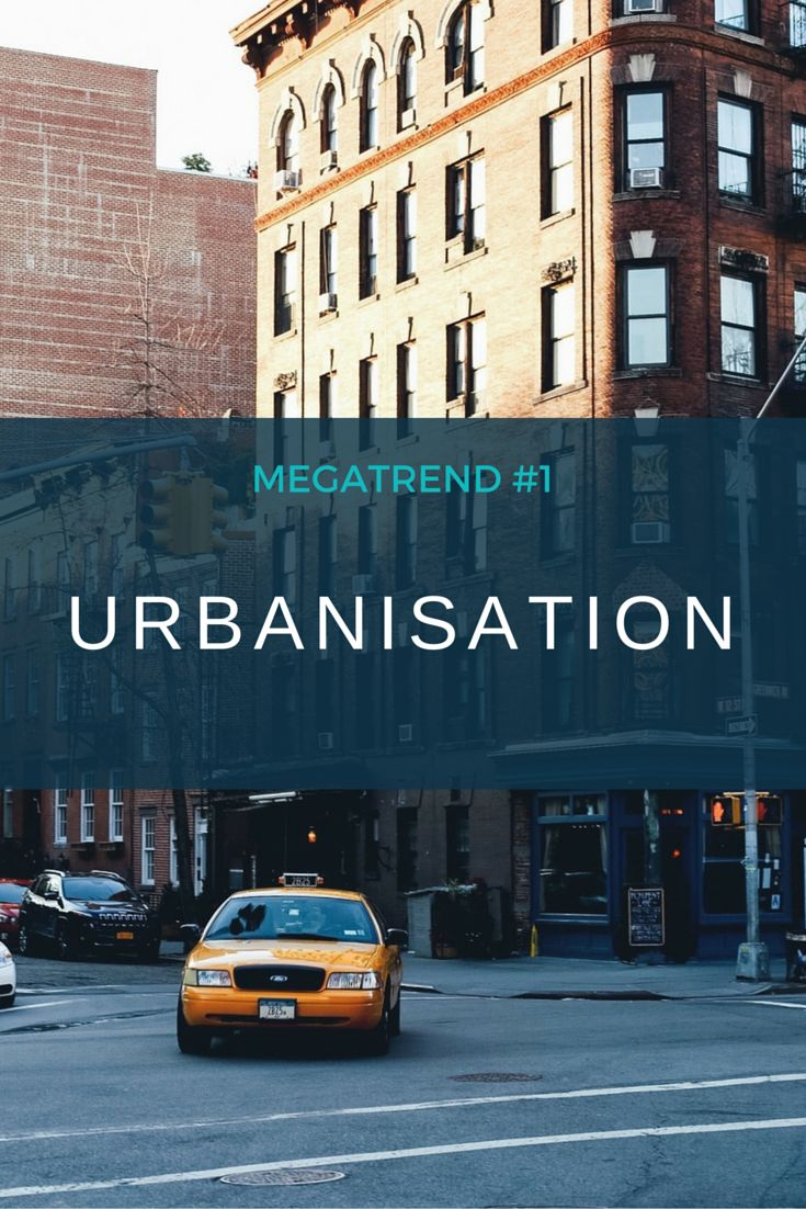 In 2013 50% of the world's population resided in cities. By 2030, the UN have estimated that 60% of the world's population will be residing in cities.