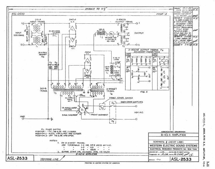 43 type amplifiers
