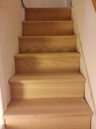 Best Simple Tread 11 1 2 In X 48 In Oak False Stair Tread 640 x 480