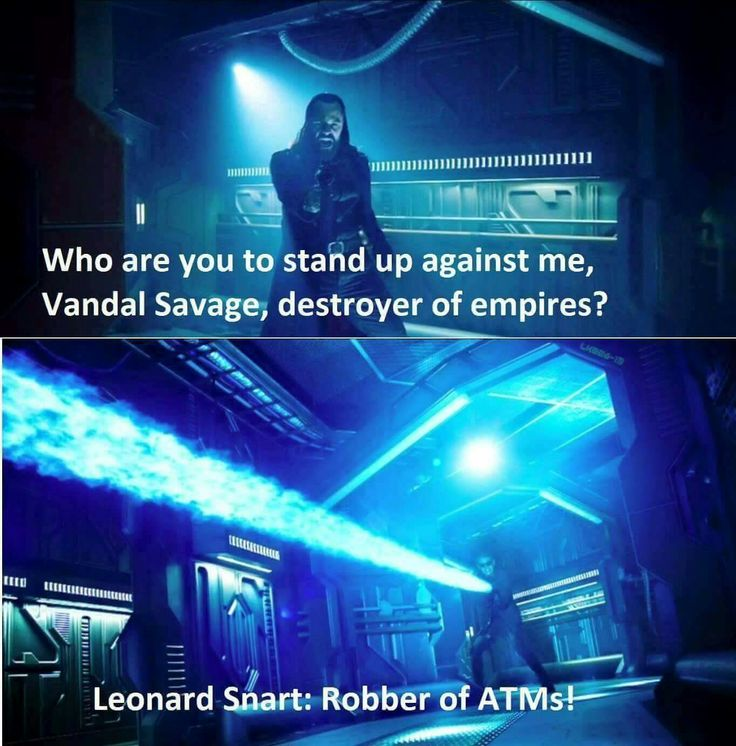 Favorite quote from this show! #LegendsOfTomorrow #VandalSavage #LeonardSnart