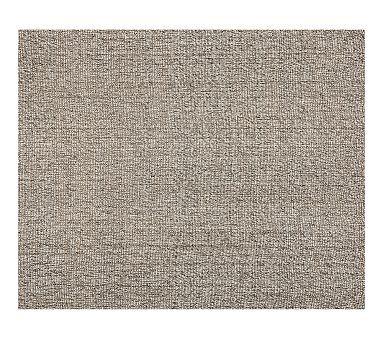 Chunky Wool & Jute Rug - Gray #potterybarn PB rugs on sale $509