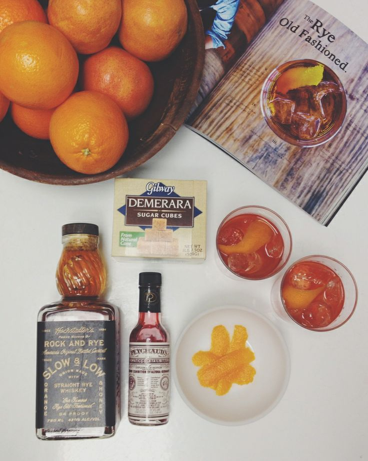 Rye Old Fashioned | the Casa Pino | entertaining a la CASA PINO ...