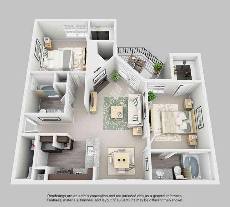 FLP 3457 best Floorplans images on Pinterest
