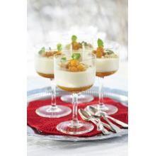 Vanilje panna cotta med multer | TINE.no