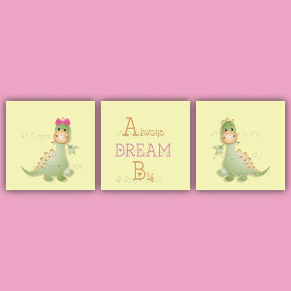 3 Piece Wall Art for Child's Room