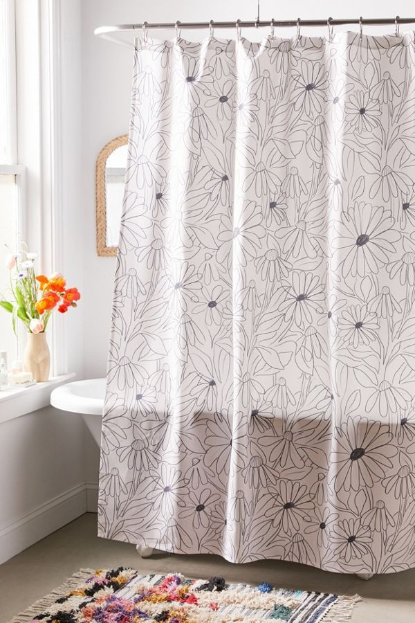 Alja Horvat For Deny Blooming Shower Curtain With Images