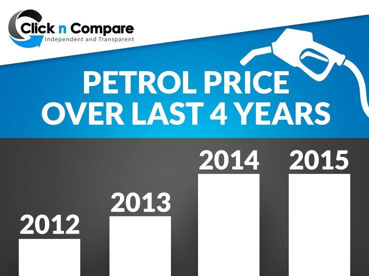 How petrol price has increased in the last 4 years