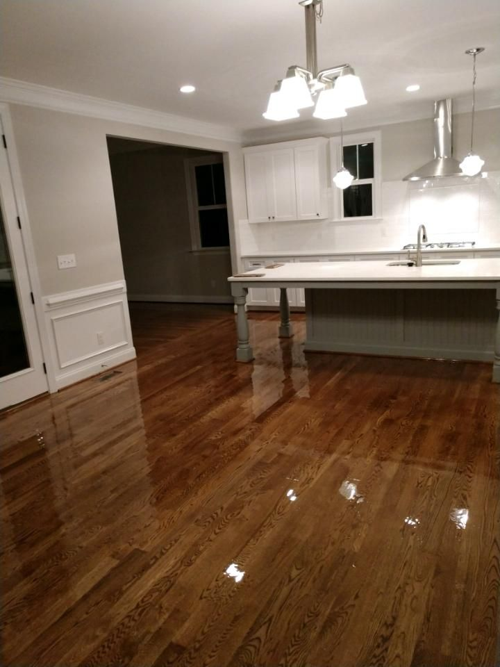 3 1 4 Inch 1 White Oak Stained In Dark Walnut Oak Hardwood Flooring White Oak Hardwood Floors Hardwood Floors