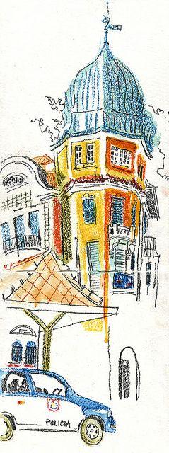 92 best images on pinterest urban sketching artist bonde rio lynne chapman urban sketchers symposium 2014 in paraty http travel drawingwatercolour penswatercolor sketchworld map gumiabroncs Images