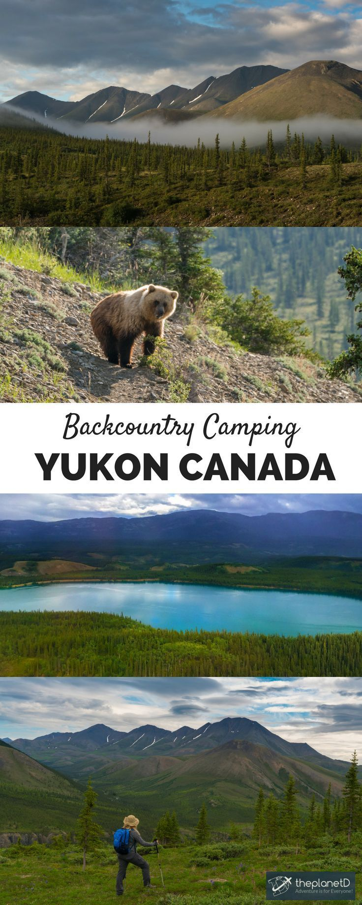 If you�ve never been backcountry camping before and think that you are not qualified to survive on your own in the wilderness (like most people out there) this is the trip for you. - Ivvavik National Park in Yukon, Canada | The Planet D Adventure Travel