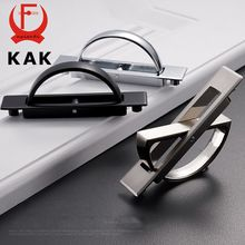 KAK Tatami Hidden Door Handles Zinc Alloy Recessed Flush Pull Cover Floor Cabinet Handle Bright Chrome Dark Furniture Hardware(China (Mainland))