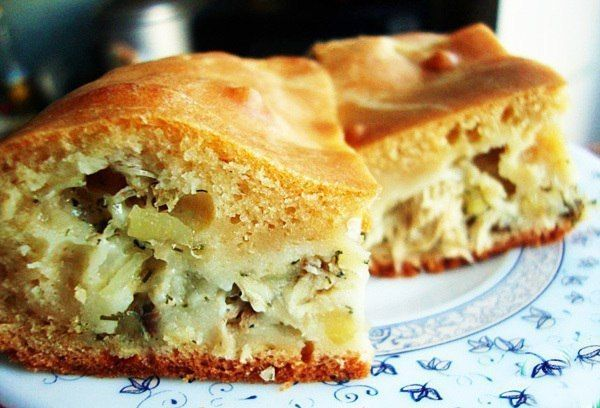 Капустный заливной пирог: выпечка на скорую руку!