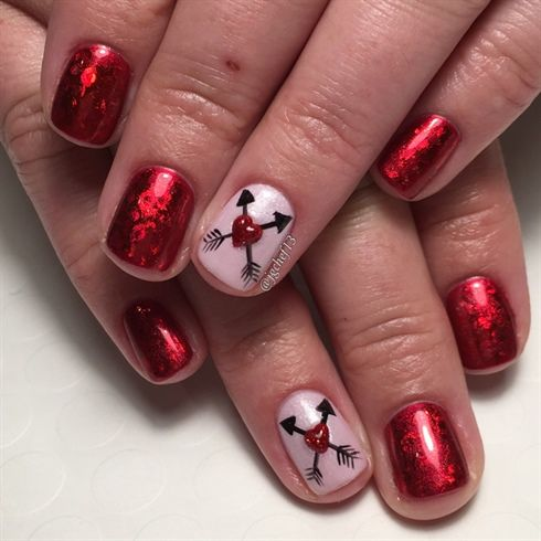 valentines nail art 420 best images about valentines day nail on 13226