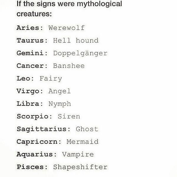 How is a siren a mythical creature? Right @dancerrose17 ?? Like wtf?? I would be a vampire if I could pick.