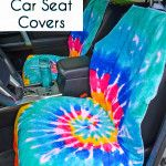 Here;s a tutorial perfect for the summer. A DIY waterproof seat cover to help you keep your seat dry after a day at the beach or pool. So helpful! Get the
