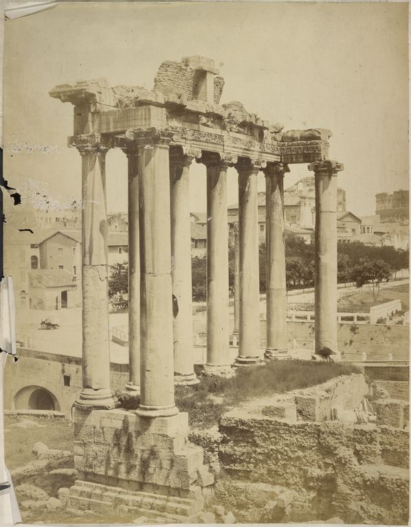 [Roman Ruins], French, 1850s