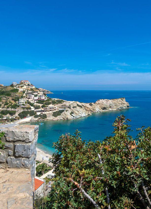 Agia Pelagia area in Heraklion - view from Villa Lygaria