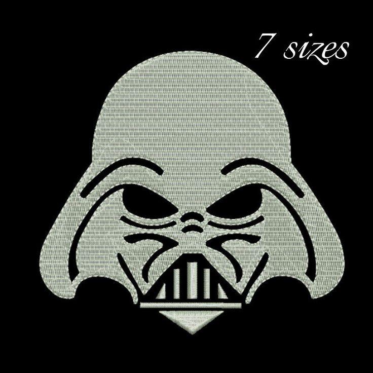 Darth Vader embroidery design,instant download,Machine Embroidery Designs,Star Wars embroidery by GretaembroideryShop on Etsy