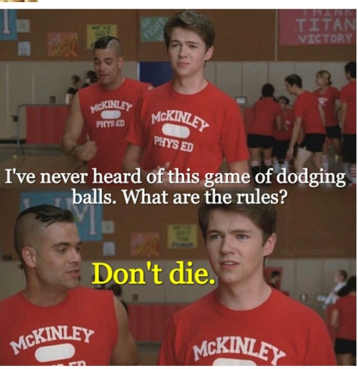 Damian and Mark! Love them! DONT DIE-the rules of dodgeball