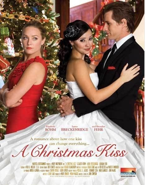 Its a Wonderful Movie - Your Guide to Family Movies on TV: A Christmas Kiss - ION Television Christmas Movie