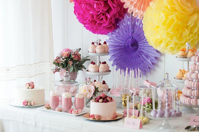 Ideen für die Candybar und Hochzeitstorte | Friedatheres.com